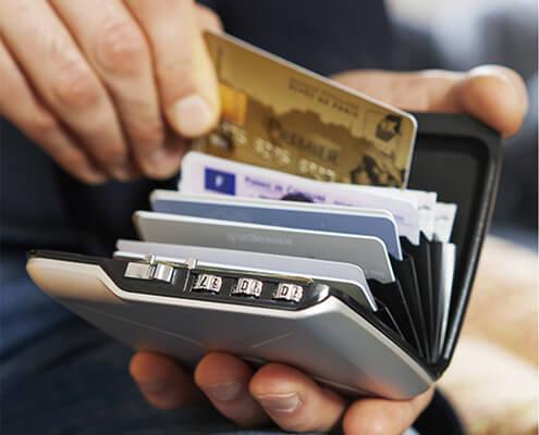 rfid wallet blocking card