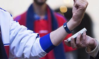13.56mhz rfid bracelet